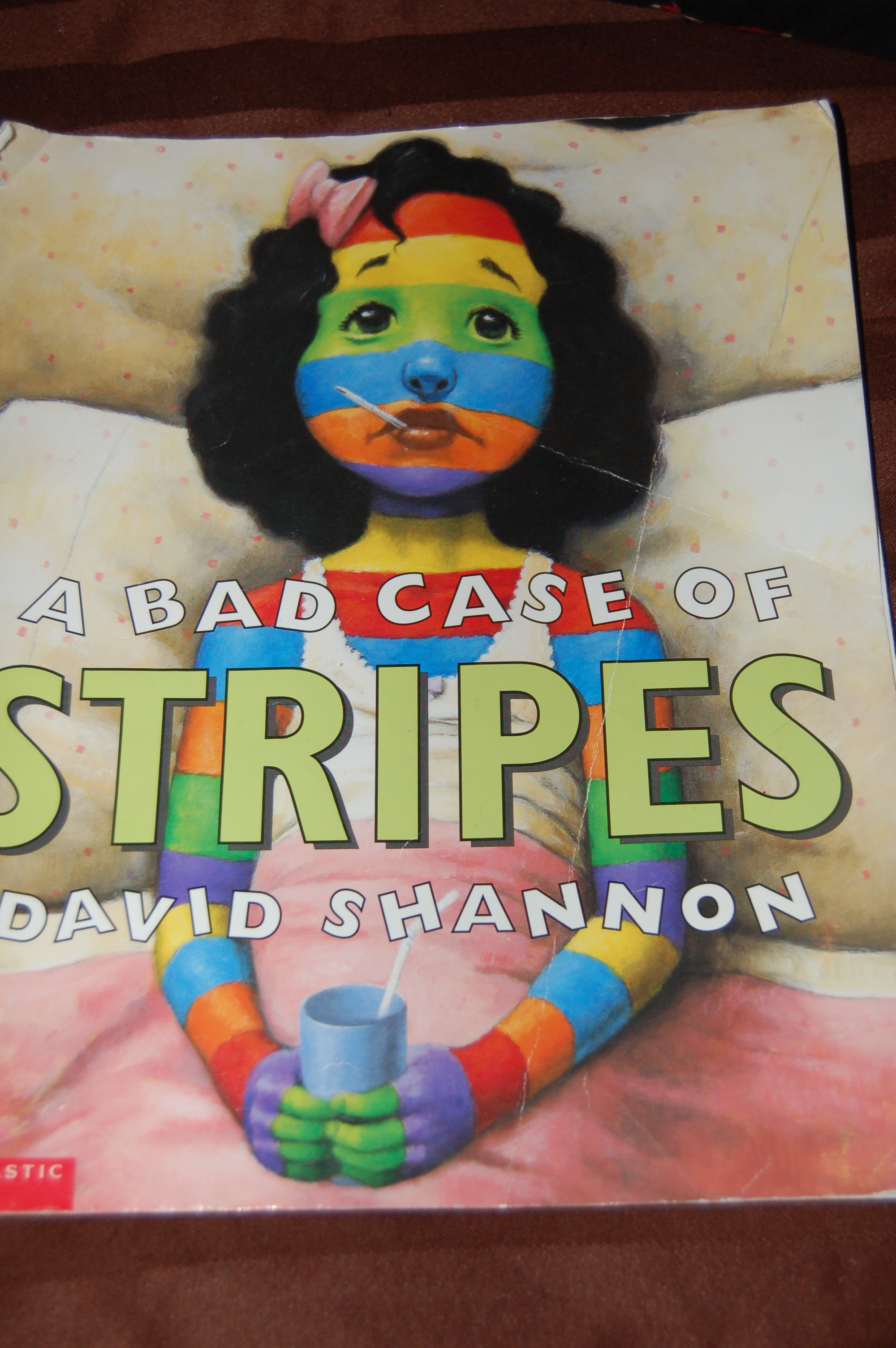 a bad case Summary a bad case of stripes by david shannon this outrageous story about a girl who develops a bad case of the stripes will easily keep students entertained while they work to develop key comprehension skills including how to ask questions, make logical predictions, and make meaningful connections while reading.